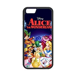 iPhone 6 4.7 Inch Cell Phone Case Black_Alice in Wonderland Character Alice_002 E4Q5D