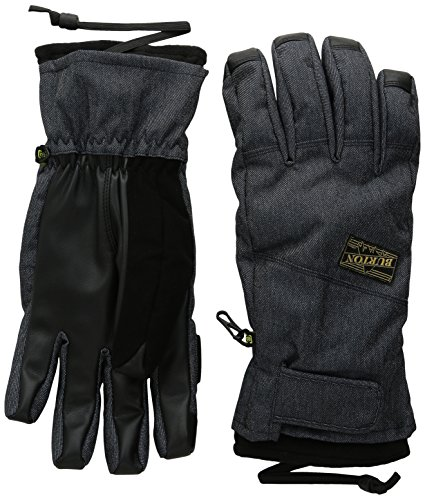 - Burton Approach Under Gloves, Denim, Medium