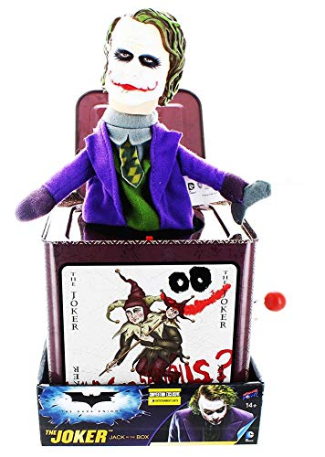 Jumping Jack Collectible - The Dark Knight Joker Jack in The Box - Convention Exclusive