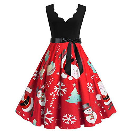 UONQD belsnickel Outfit Tunics Decorating Soft surroundings Clothing Poinsettia hat Tunic to wear with for Office Upside Farm Pencil Grand (Lowes 12ft Trees Christmas)