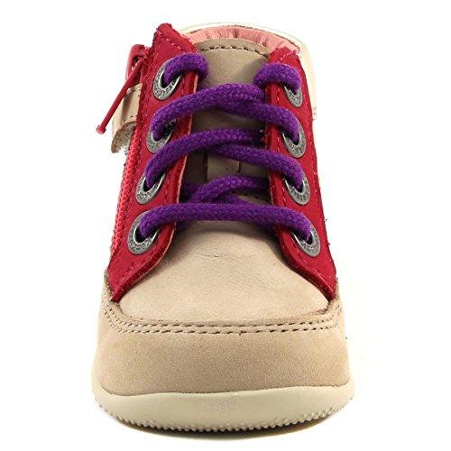 Kickers - Zapatillas de deporte para niña Beige