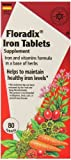 Flora Floradix Iron Tablets, 80 Count (Pack of 3) Review