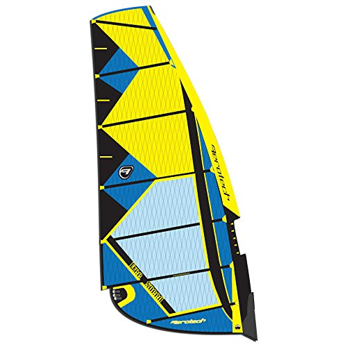 Aerotech Sails 2017 Freespeed-6.5-Yellow Windsurfing Sail by Aerotech Sails
