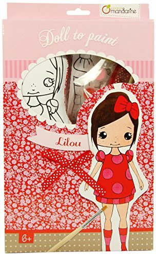 Avenue Mandarine Doll to Paint Lilou by Avenue