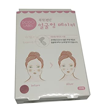 5a641327a2ea NEW! DODO LABEL V Shape Face label Lift up fast works Maker 20 pieces