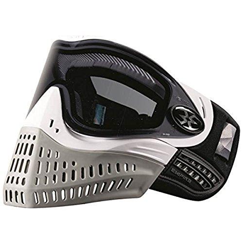 Empire E-Flex Paintball Goggle Mask - White/Grey