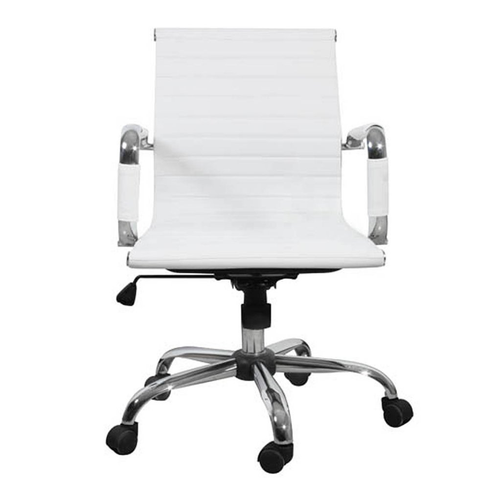 Fauteuil de bureau cuir blanc fauteuil bureau sans roulettes