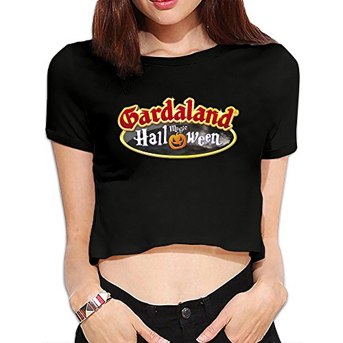 Ladies Gardaland Halloween Dew Navel -