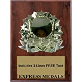 "2"" Blank Insert Plaque Trophy Award"