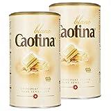 Caotina blanc, Cocoa Powder with White Swiss Chocolate, Hot Chocolate, 2 Pack, 2 x 500g