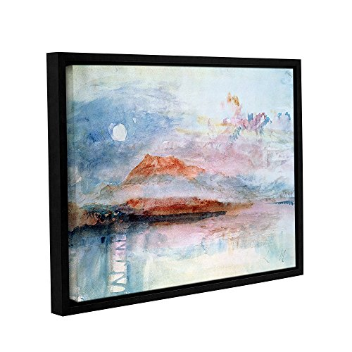 ArtWall William Turner's Righi After 1830 Gallery-Wrapped Floater-Framed Canvas Wall Art, 24'' x 32'' by Art Wall