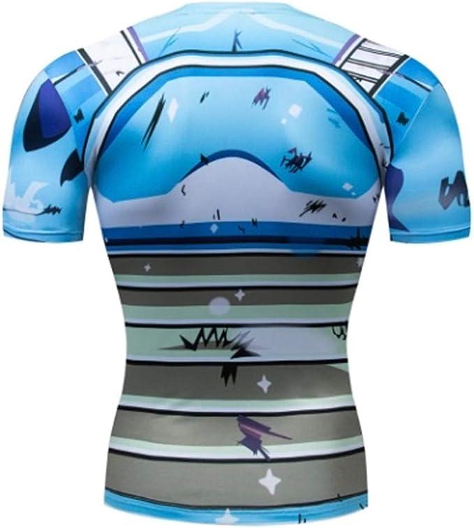 Ampparels Skull Superhero Shirt Compression Sports Shirt Fitness Men Base Layer