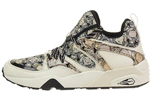 Puma BLAZE OG X SWASH FG Zapatillas Sneakers Negro para Unisex Trinomic