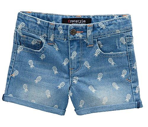 [Freestyle FS4-66020 Denim Shorts Pineapple 5] (Pineapple Costume Girl)