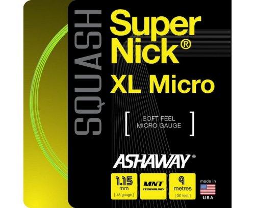 ASHAWAY Super Nick XL Micro Set Squash String 27307.125820