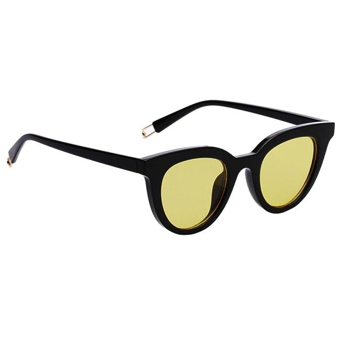 MagiDeal Gafas de Sol de Gato para Mujer Unisexo Protección ...