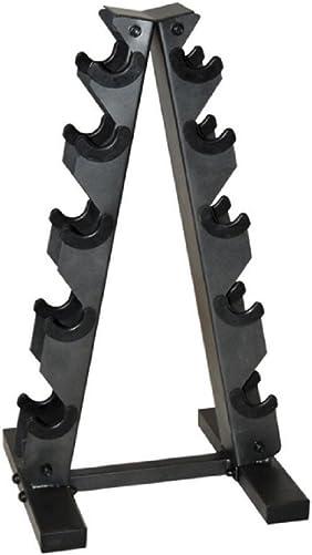 CAP Barbell Black A Frame Dumbbell Rack, New