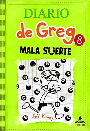 Diario De Greg 8 Mala Suerte Amazonde Jeff Kinney