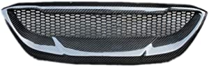 Eppar New Carbon Fiber Front Grille for Hyundai Genesis Coupe 2008-2012 (1PC)
