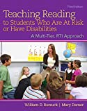 img - for Teaching Reading to Students Who Are At Risk or Have Disabilities: A Multi-Tier, RTI Approach,Enhanced Pearson eText -- Standalone Access Card (3rd Edition) book / textbook / text book