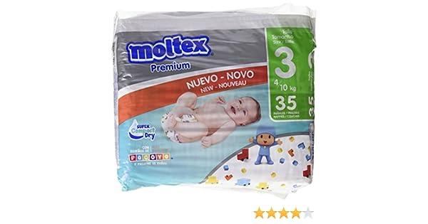 Moltex Premium - Bolsa de Pañales Desechables, 35 Unidades: Amazon.es: Amazon Pantry
