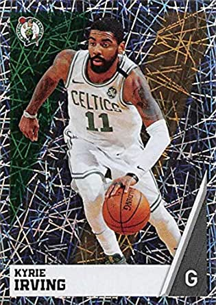 4959a09c16a Amazon.com  2018-19 Panini NBA Stickers Basketball  26 Kyrie Irving ...