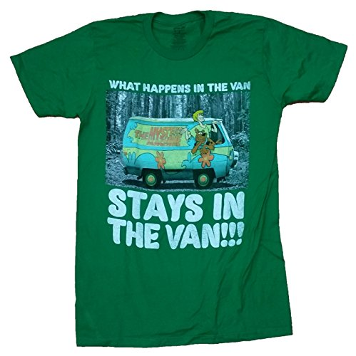 Scooby Doo What Happens in the Van Stays in the Van Graphic T-Shirt - -