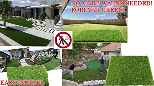 ALTRUISTIC Premium Realistic Artificial Grass in Many Sizes (6.5 ft X 10 ft = 65 square ft) by ALTRUISTIC (Image #4)