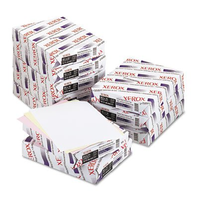 o Xerox o - 3-Part Straight Collated Carbonless Paper, WE/YW/PK, Letter, 1,670 Set/Ctn