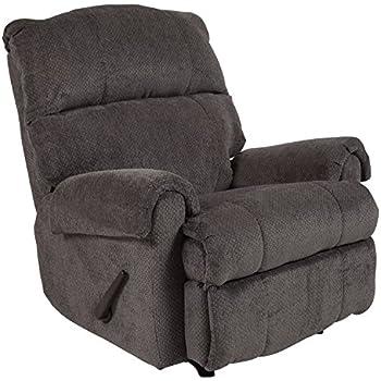 Amazon.com: Flash Furniture Darcy Rocker Recliner, Tela ...