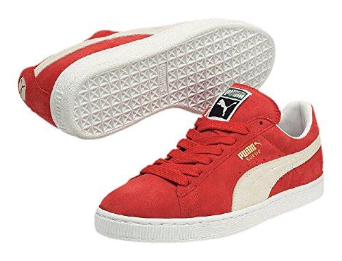 White Team Puma Rojo Regal 05 Adulto Unisex Suede Classic Zapatillas Red YgRxwg1zq