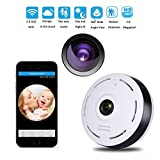 Cheap Veoker IP Camera Wireless Wifi 360 Degree Panoramic 2.0 Megapixel 1080P 2.4GHZ Security Camera Super Wide Angle Support IR Night Motion Detection Keep Your Pet & Home Safe
