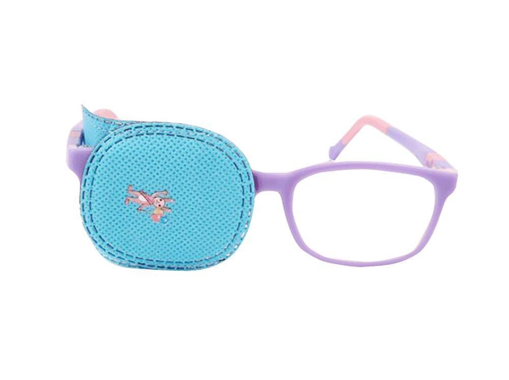 6Eye patch-amblyopia Eye Patches für Kinder zu behandeln Amblyopie Schielen, Lazy Eye Patch Sehschärfe Recovery für Kinder blau erioctry T-0003X-3pcs