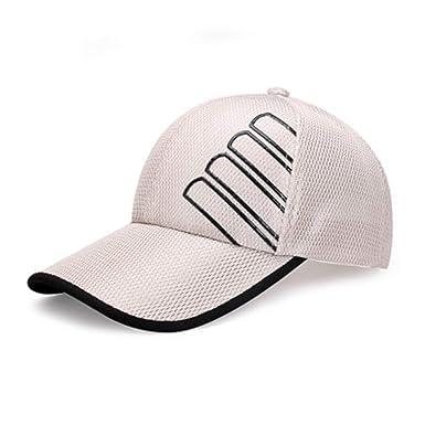 SELYSun - Gorra de béisbol para Hombre, Color Beige: Amazon.es ...