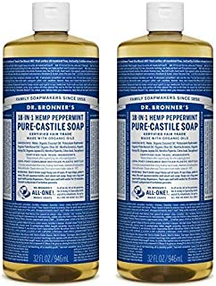 product image for Dr. Bronners Peppermint 32oz. Castile Soap (2 Pack)