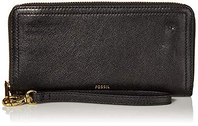 Fossil Logan RFID Zip Around Clutch Wallet