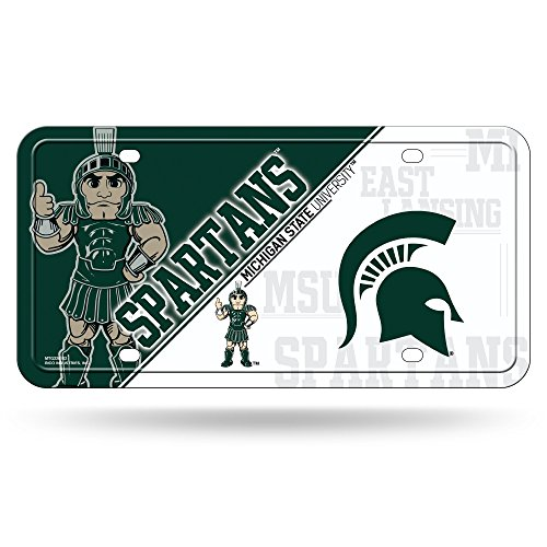 Car Auto Tag (NCAA Michigan State Spartans Metal Auto)