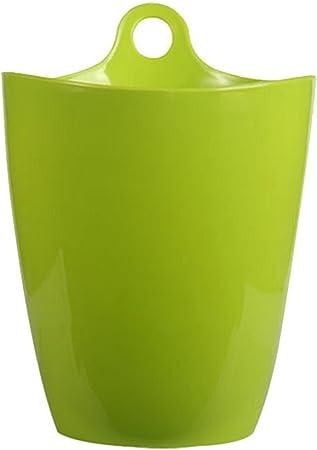 Da.Wa Creative Mini Trompette Bureau poubelles de Table en Plastique Stockage Tube d/ébris Seau Fournitures Cuisine,Bleu