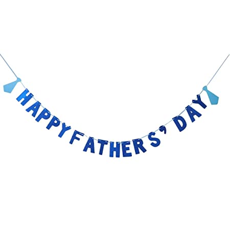 XINXI Home Feliz día de los Padres Banner Cumpleaños del ...