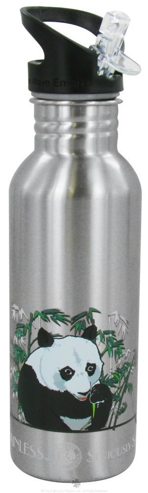 New Wave Enviro NEW-WAVE-ENVIRO-82026 Stainless Steel Bottle 20 oz. Nature