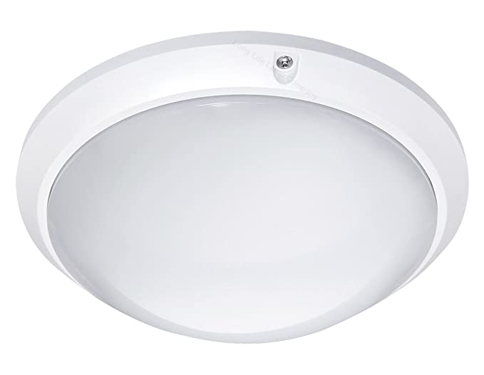 10w round led ceiling light flush mount bulkhead light fitting 6000k cool white