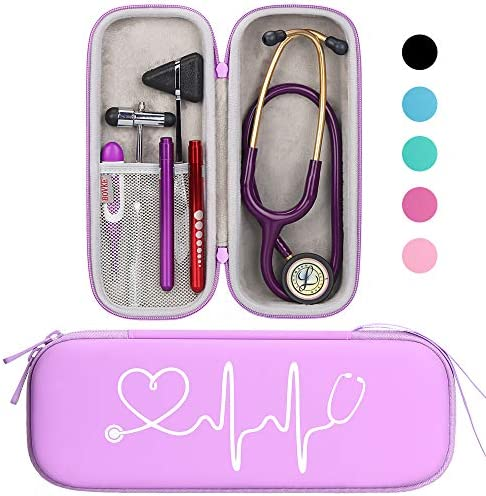 BOVKE Travel Carrying Classic Stethoscope