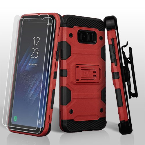 MyBat Cell Phone Case for SAMSUNG Galaxy S8 Plus - Red