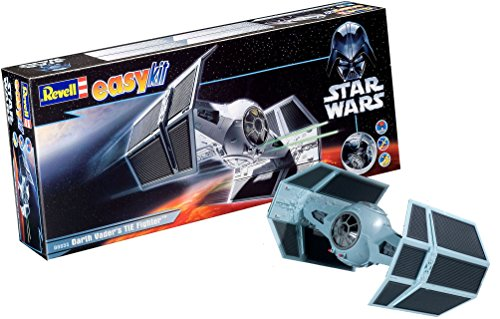 [Revell Easy Kit Star Wars Darth Vader Tie Fighter Model Kit] (Darth Vader Model)