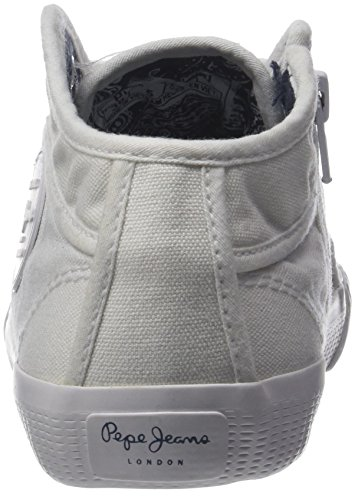 Industry 18 Jeans Plain Blanco Pepe white Zapatillas Mujer fq75ttPw