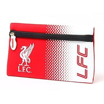 Official Football Merchandise Colours Flat Neoprene Zip Pencil Case