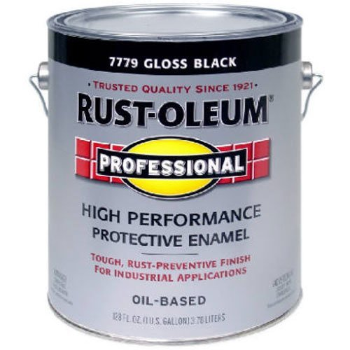 RUST-OLEUM 242253 Professional Gallon Black Gloss Finish