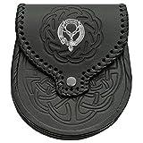 Gordon Scottish Clan Crest Badge Sporran