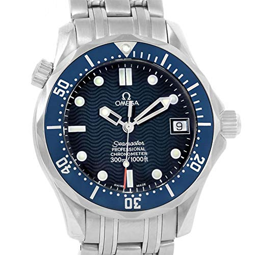 Wrist Automatic Watch Omega (Omega Seamaster Automatic-self-Wind Male Watch 2551.80.00 (Certified Pre-Owned))