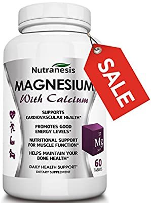 Nutranesis Magnesium with Calcium, 60 Tablets